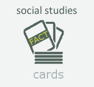 Social studies fact cards will help with grade school social studies topics