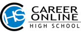 Career Online High School allows enrolled adults get an accredited high school diploma and a career certificate.