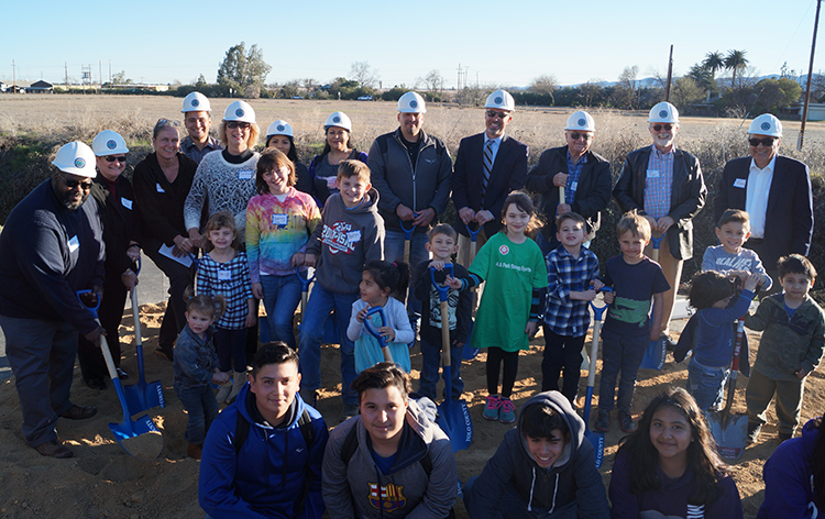 Esparto Community Park  Aquatic Center Groundbreaking Celebration