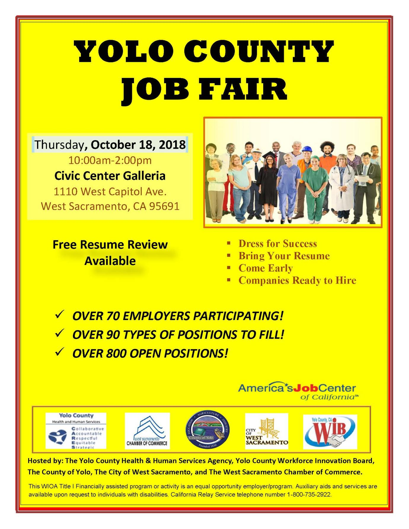 Employment Services Yolo County