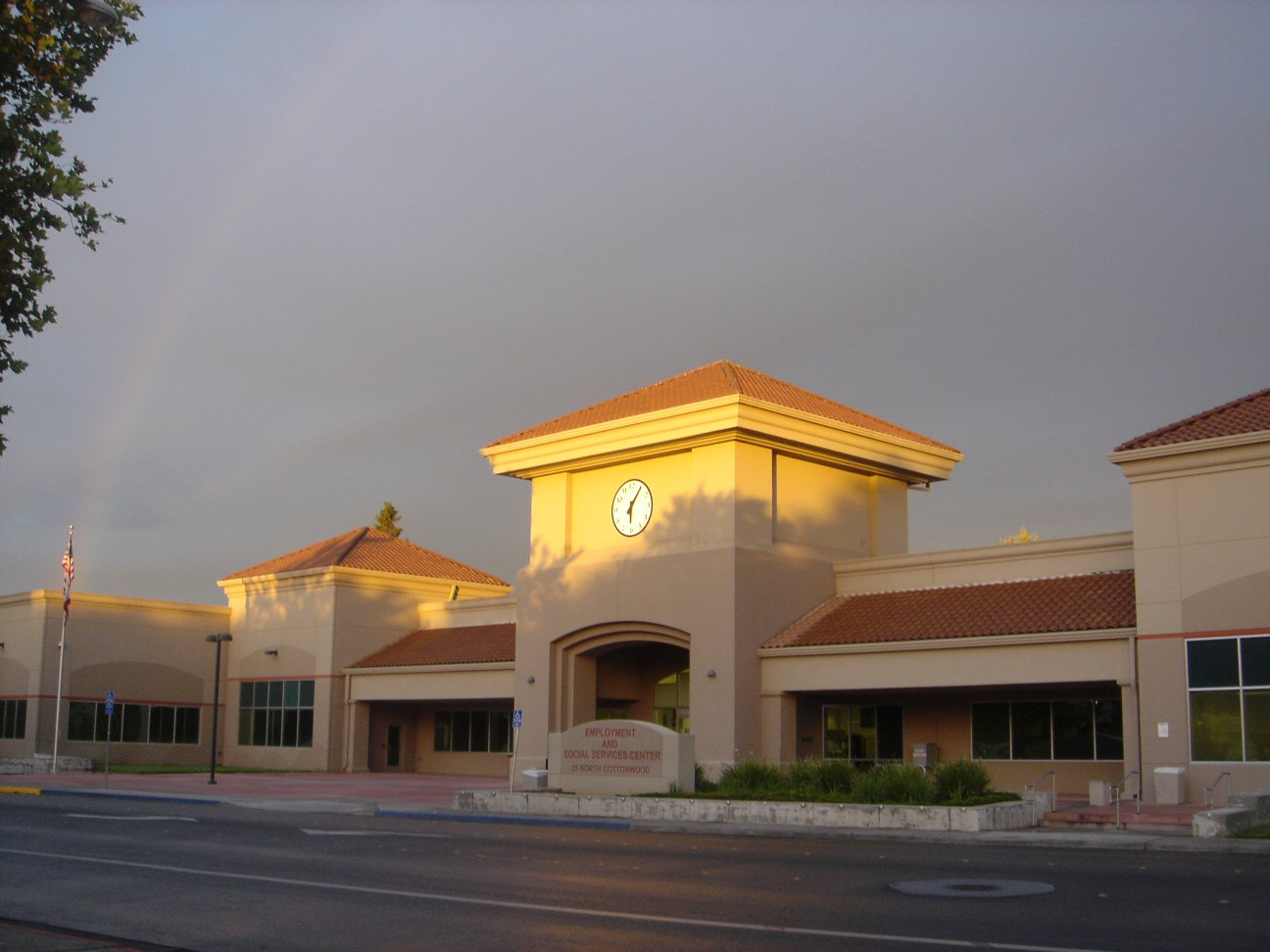 Gonazalez Building at Dawn