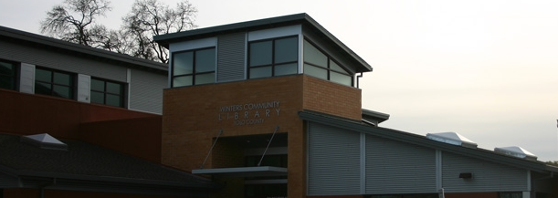 winters community library image