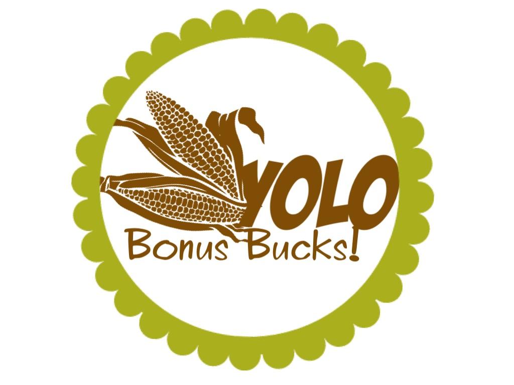 Yolo Bonus Bucks Logo