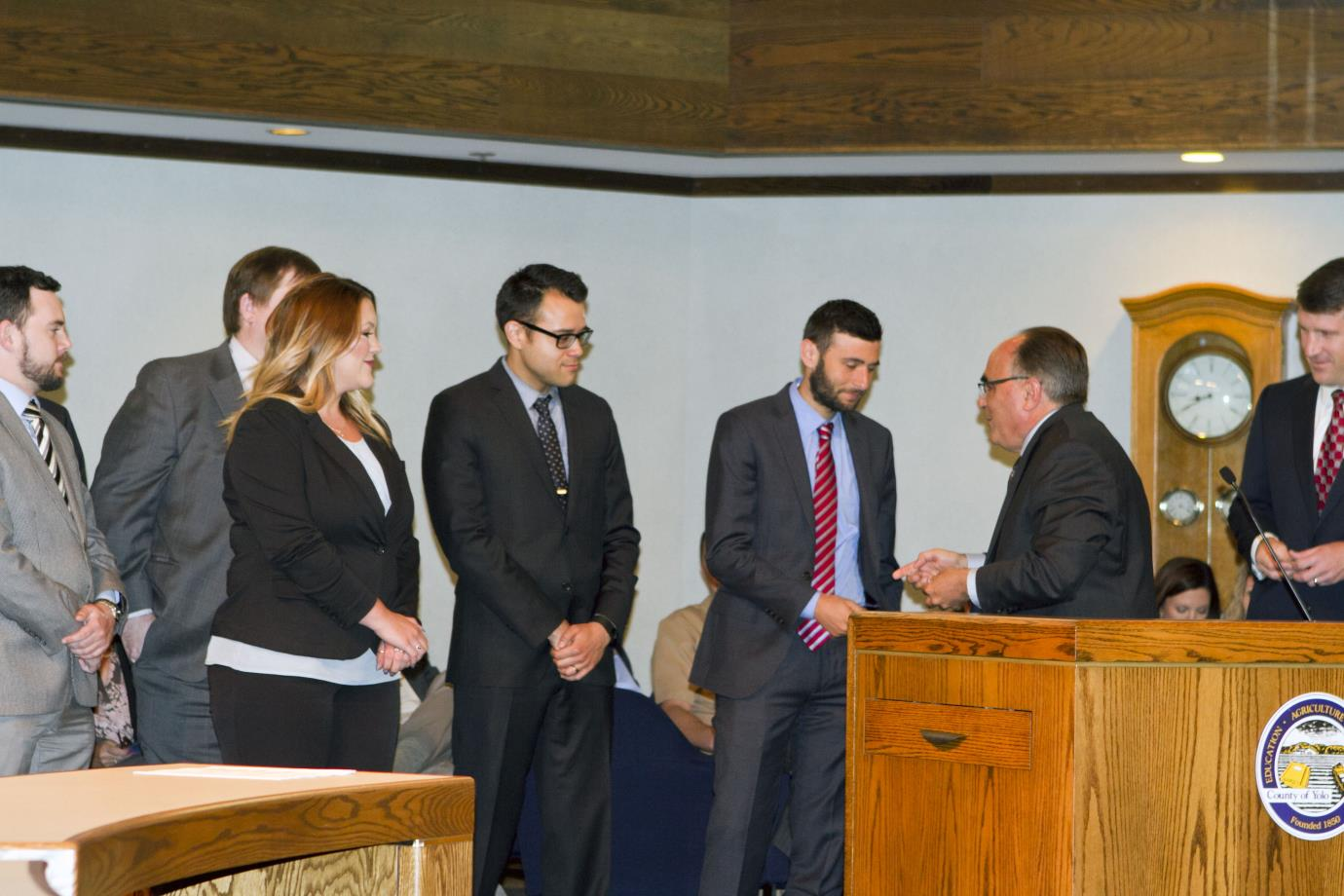 Public Defender Interns with Supervisor Provenza