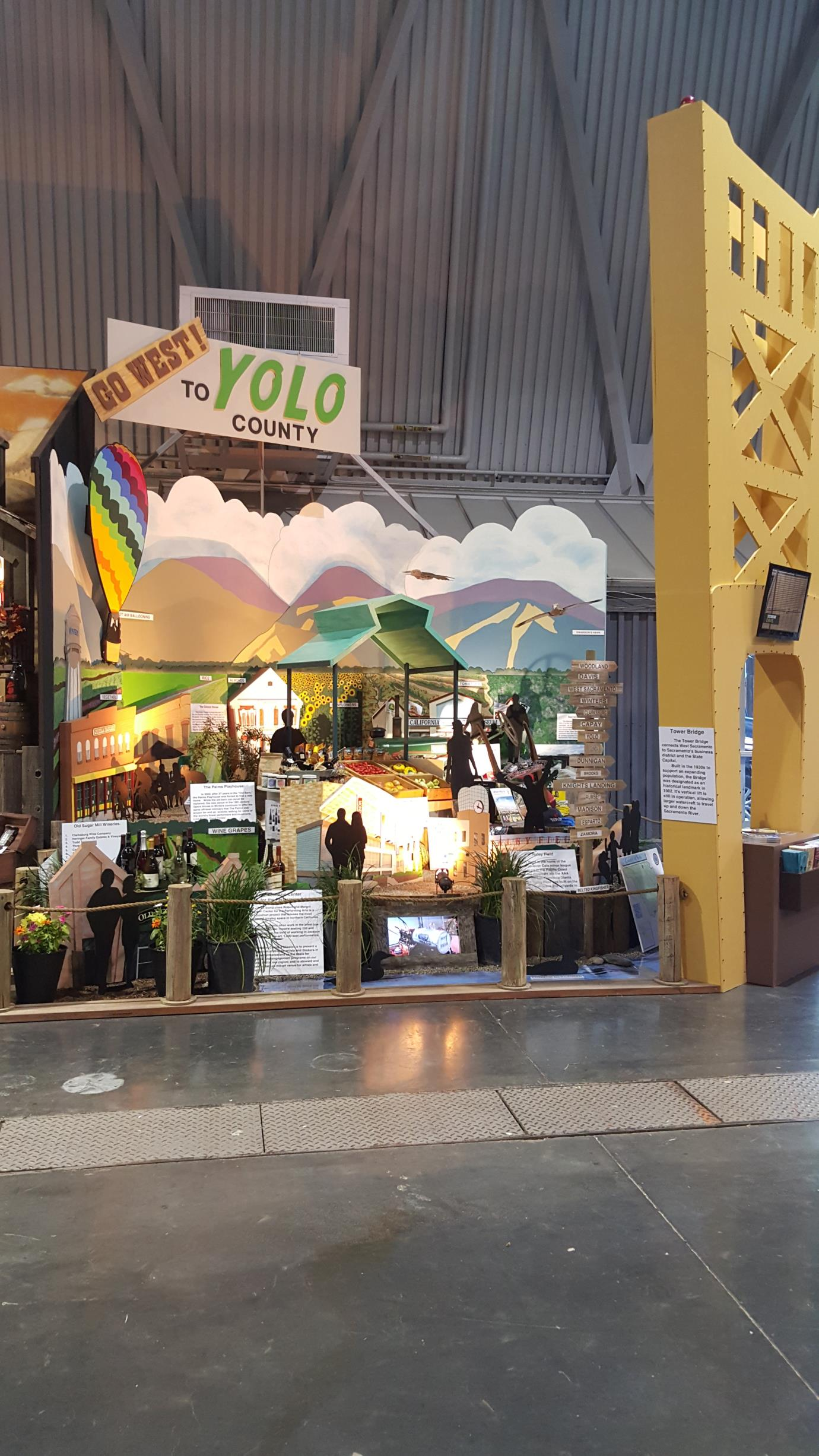 2017 Yolo County State Fair Exhibit