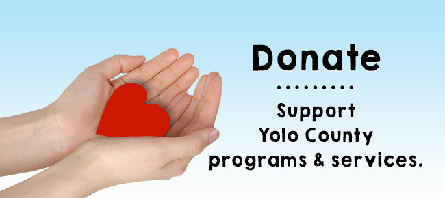Donate to Support Yolo County.