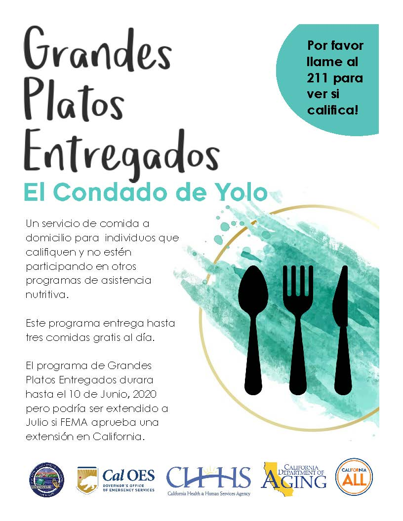 Great Plates Delivered Yolo County (SPANISH Simple)