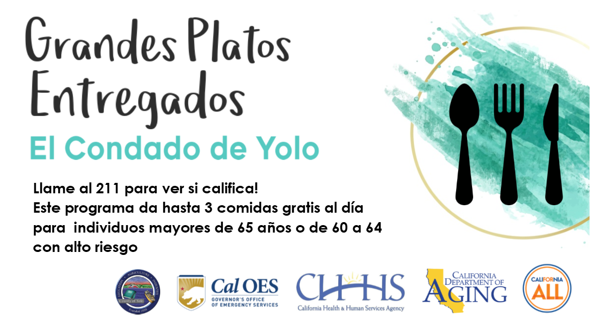 Great Plates Delivered Yolo County (SPANISH Social Media)