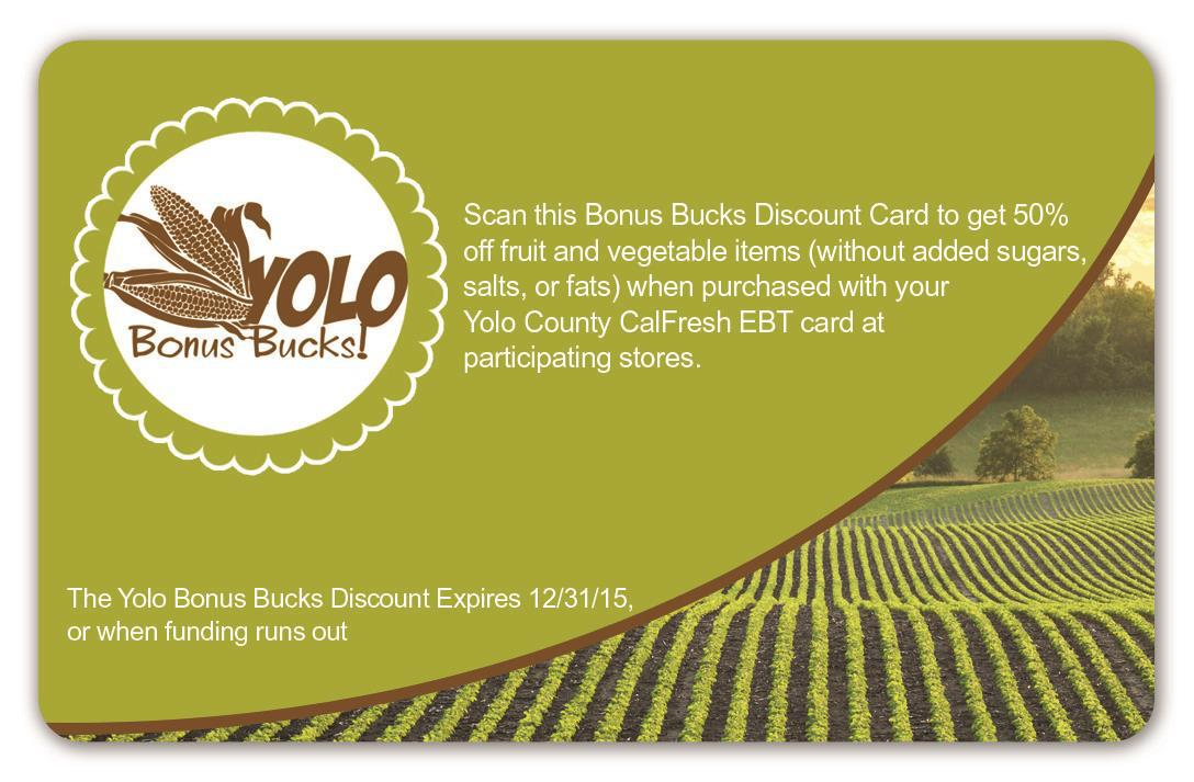 Bonus Bucks Card
